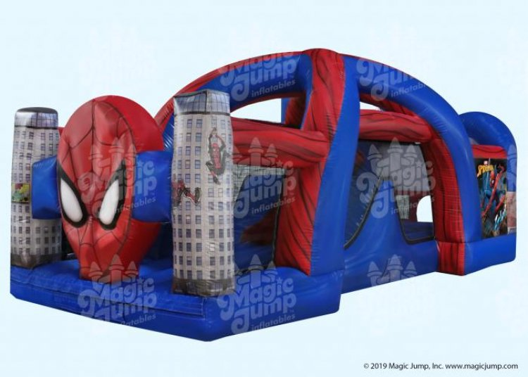 Spider Man Bounce & Slide Combo