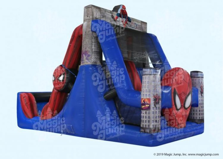 Spider Man Dual Lane Slide (Dry)