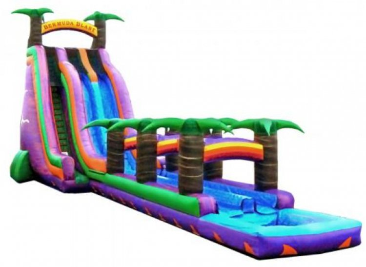27ft Bermuda Blast Water Slide