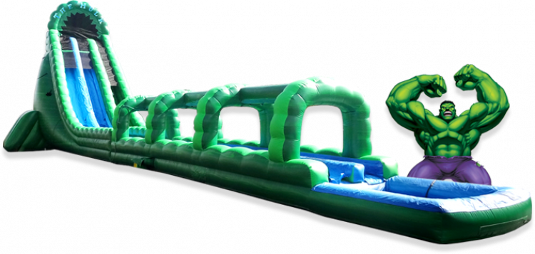 36ft Hulk Water Slide