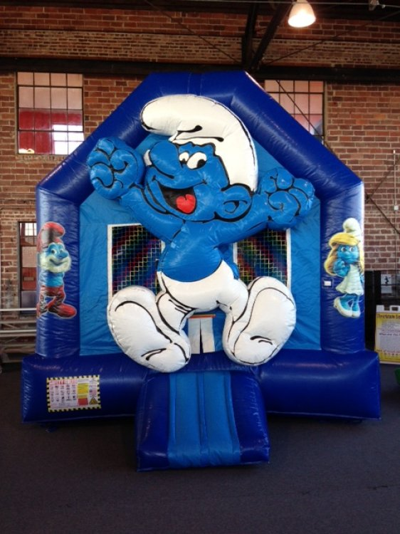 Smurf Bouncer