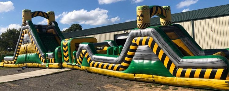86ft Toxic Obstacle Course
