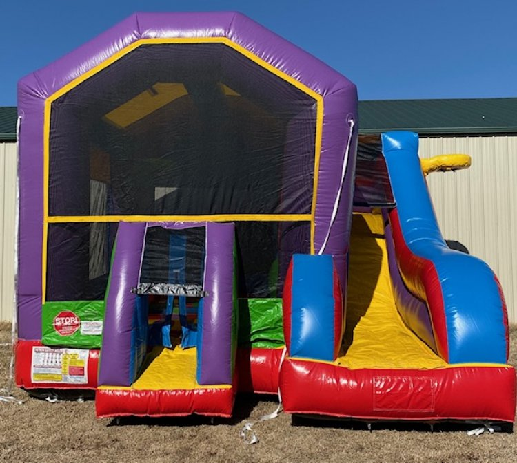 Adventure Bounce House Combo