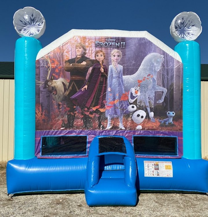 Frozen II Large Bounce House