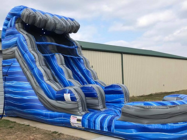 15ft Laguna Waves Water Slide
