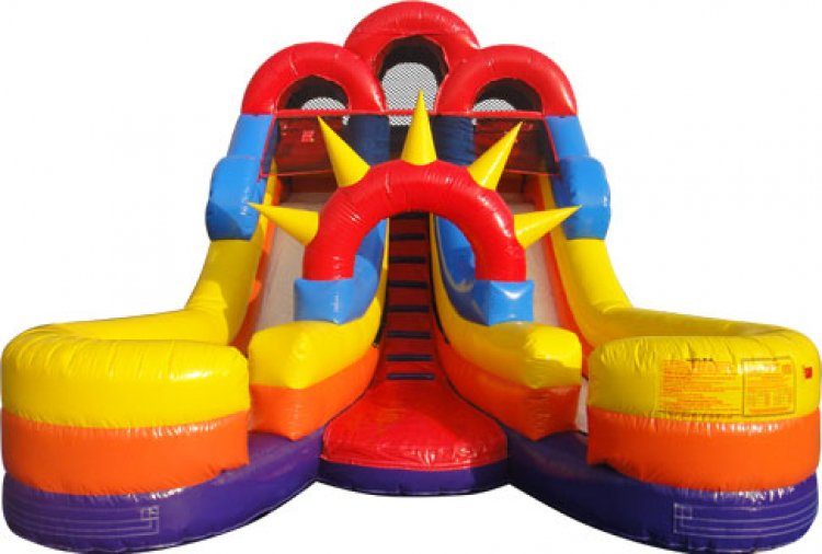 Double 16ft Dry Slide