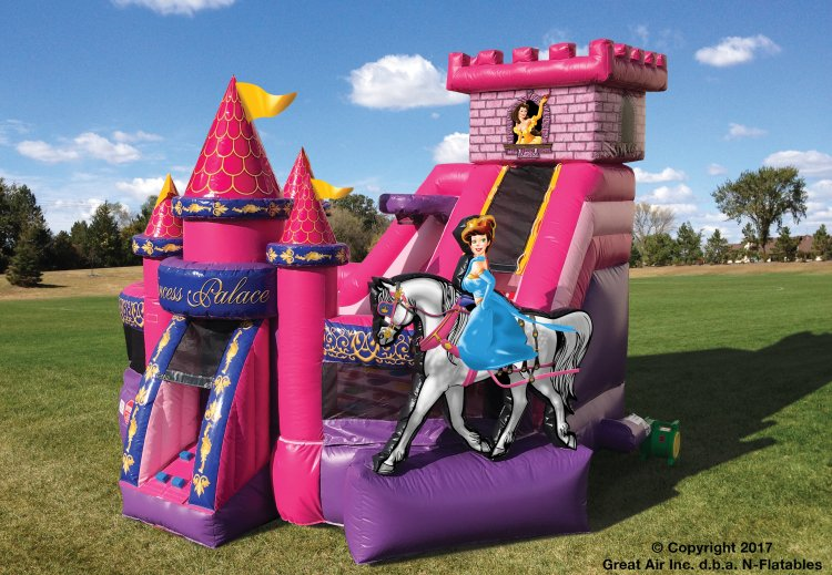 Princess KidZone w/ Water Slide