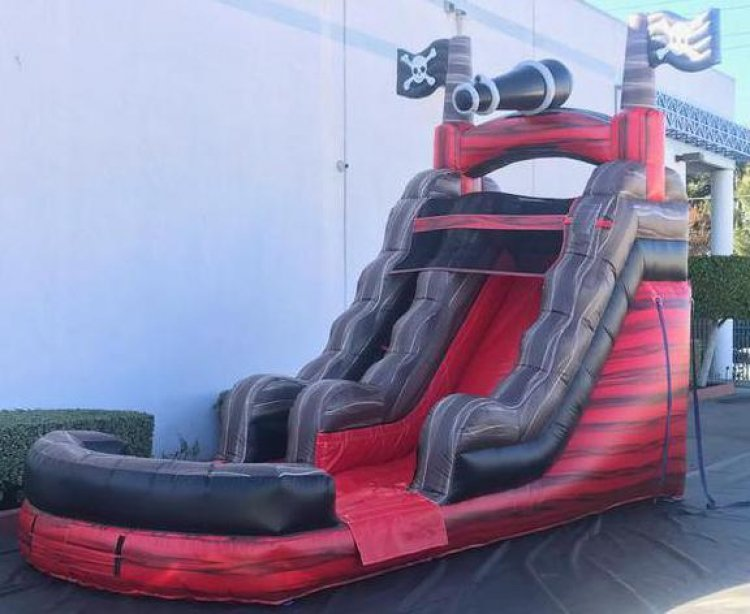 15ft Caribbean Pirate Water Slide