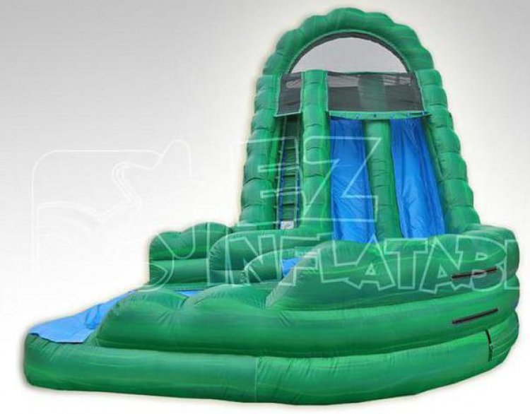 18ft Emerald Falls Curvy Water Slide