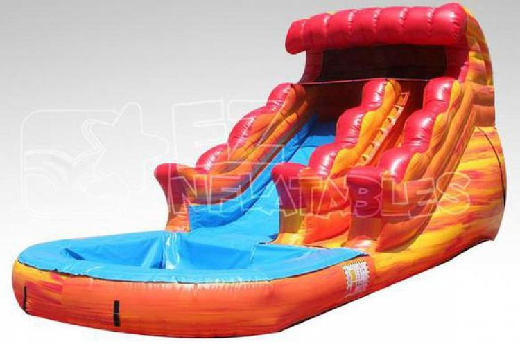 13ft Volcano Rush Water Slide