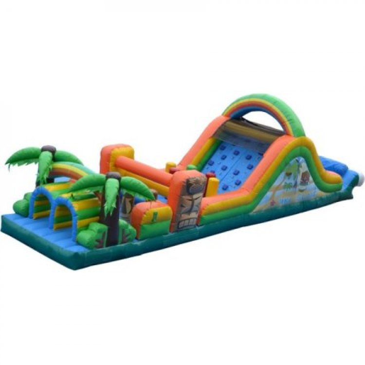 Tiki Island Water Obstacle Course