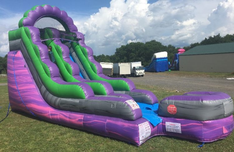 15ft Joker Soaker Water Slide