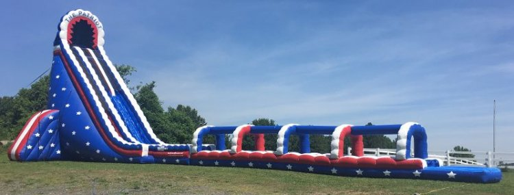 45ft Patriot Water Slide