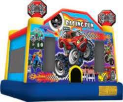 Racing Fun Medium Bounce House