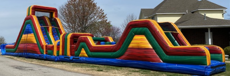 86ft Marble WATER Obstacle Course