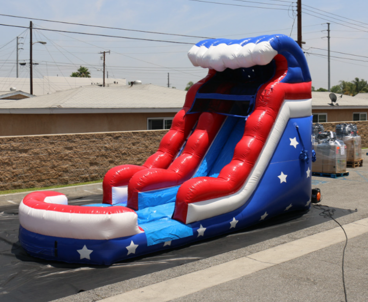 15ft Old Glory Water Slide