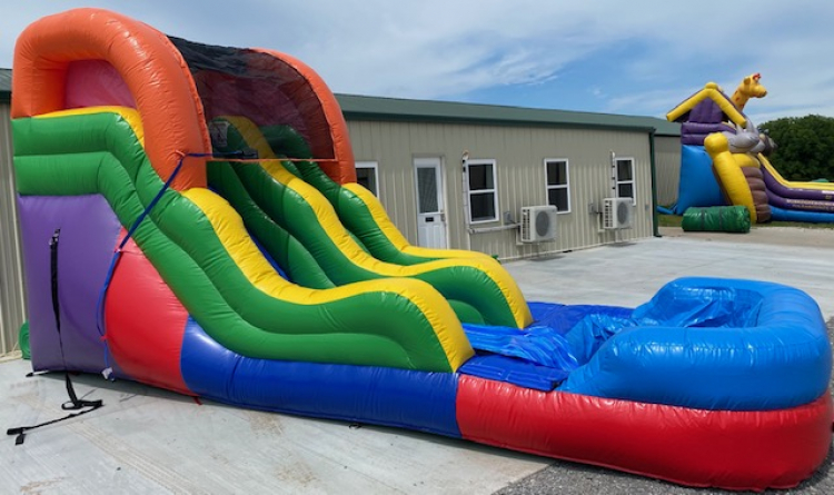 12ft Colorful Water Slide