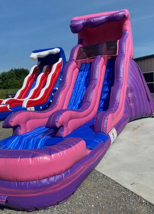 18ft Purple Passion Water Slide