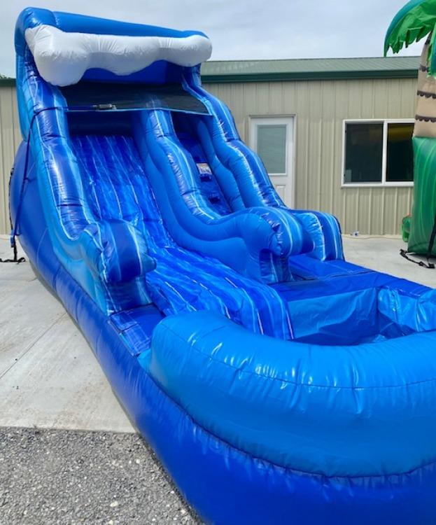 12ft Splash Down Water Slide