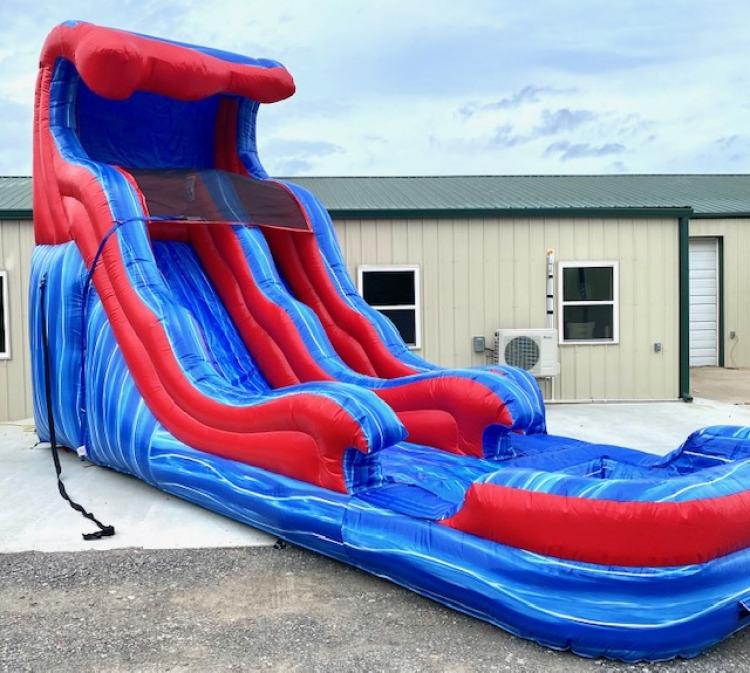 15ft Wave Runner Water Slide
